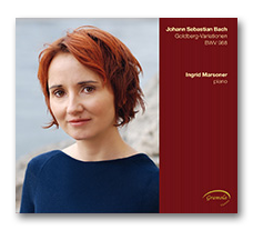 Ingrid Marsoner Diskographie Buttom zur CD mit Johann Sebastian Bach Goldbergvariationen